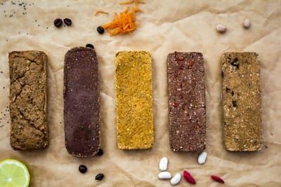 Vegan Diät Proteinriegel selber machen Dankbars